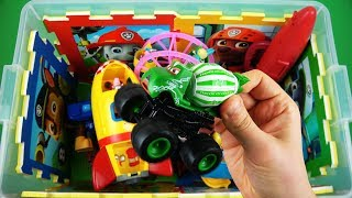 Learn characters, vehicles & colors videos for kids - McQueen, Mater, Peppa Pig, Ben & Holly and etc