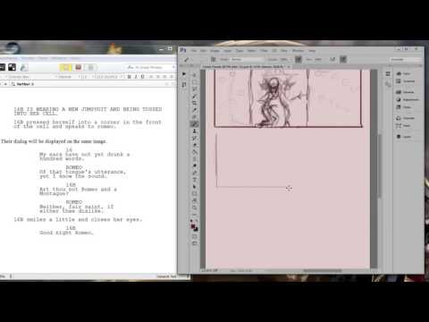 Sketching storyboards and comic Panels #script #writing #com