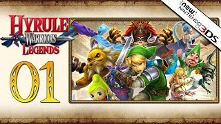 Hyrule Warriors Legends - Part 1 | Prologue - The Armies of Ruin + Giveaway [3DS Story Mode]