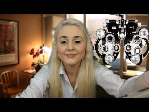 ASMR Eye Exam (Personal Attention)