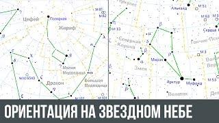ориентация на звездном небе. Как можно ориентироваться по звездам?