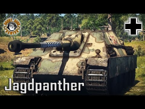 War Thunder: Jagdpanther, German, Tier-4 Tank Destroyer