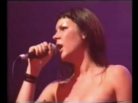 "2002: Miss Kittin & The Hacker live at Benicassim Festival: ""Sweet Dreams (Eurythmics cover)"""