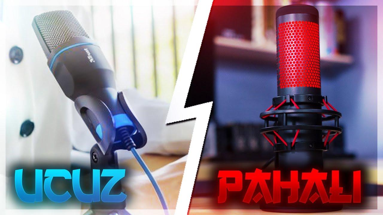 UCUZ VS PAHALI MİKROFON ! | Minecraft Craftrise Skywars