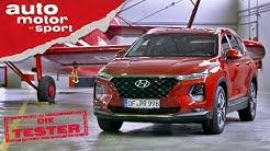 Hyundai Santa Fe 2.2 CRDi: Zu teuer oder genau richtig? - Test/Review | auto motor und sport