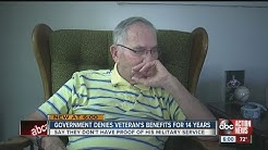 Government denies Veteran benefits for 14 years