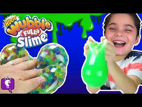 Wubble Fulla Slime and Marbles! Surprise Toys Inside with HobbyKidsTV