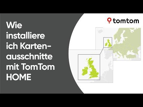 Tomtom Sd Karte Installieren.Wie Installiere Ich Kartenausschnitte Mit Tomtom Home Youtube