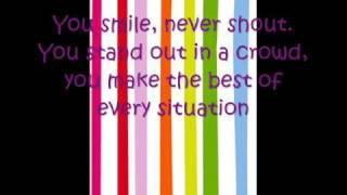 I wanna know you -Hannah Montana 3 (With Lyrics on screen)
