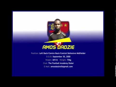 TFA - Amos Dadzie Highlights