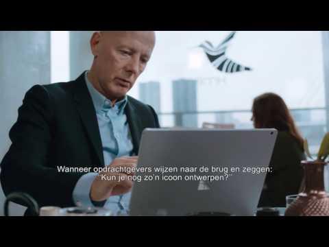 Architect Ben van Berkel over de Erasmusbrug en Surface Book