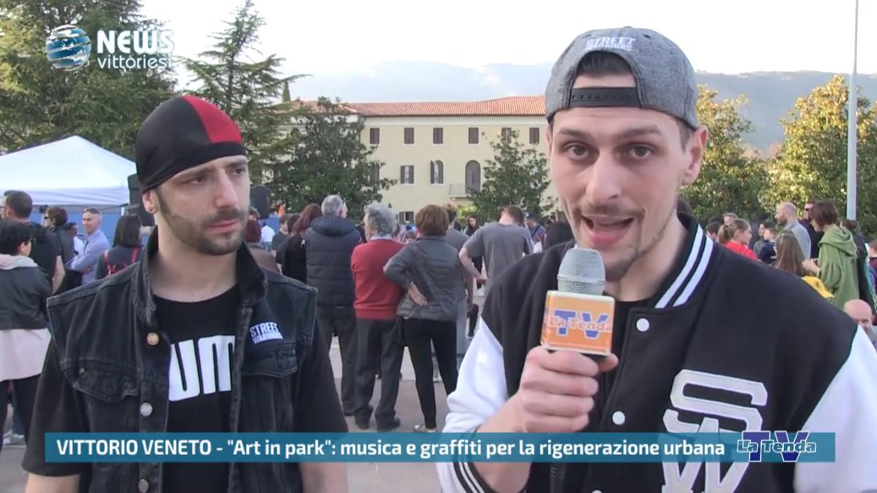 "News vittoriesi - ""Art in park"": musica e graffiti per la rigenerazione urbana"