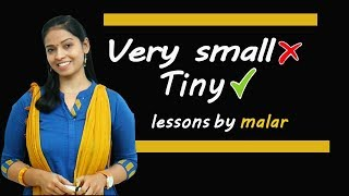 Words to use instead of 'Very' #87- Learn English with Kaizen through Tamil