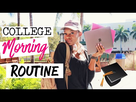 My College Morning Routine  2019