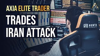 AXIA Elite Trader trades Trump Address to the Nation after Iran Attack | Axia Futures