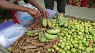 Green Banana Vorta ॥ Kacha Kola Vorta ॥ Street Food By Deshi Food Express