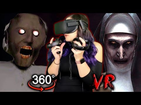 GRANNY & THE NUN in VR?! | Scary Old Ladies 360 VR Reaction