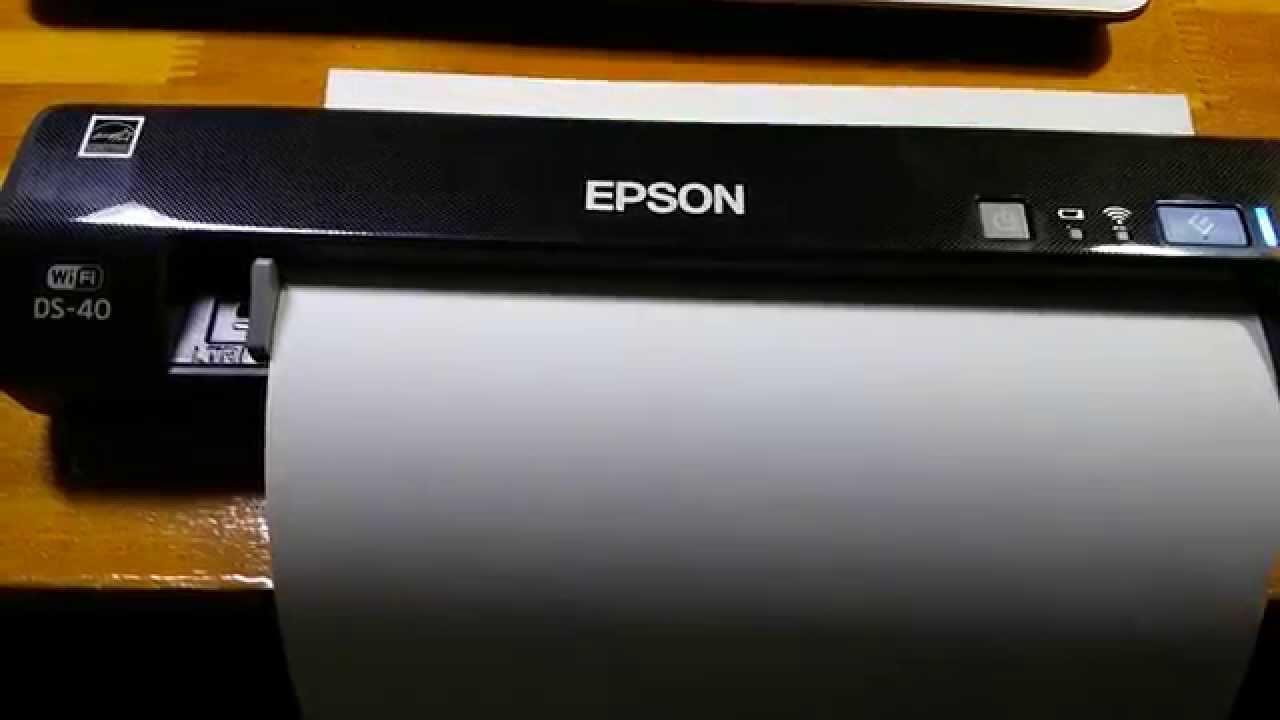 Epson Workforce Ds 40 600dpi Youtube