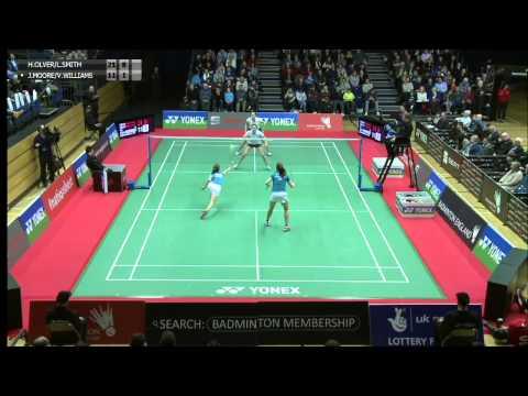 Women's Doubles Final - 2015 English National Badminton Championships