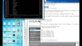 Setup webmail server roundcubemail-1.2.3 in CentOS 5.4 clean OS