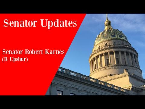 Senator Updates - Senator Robert Karnes