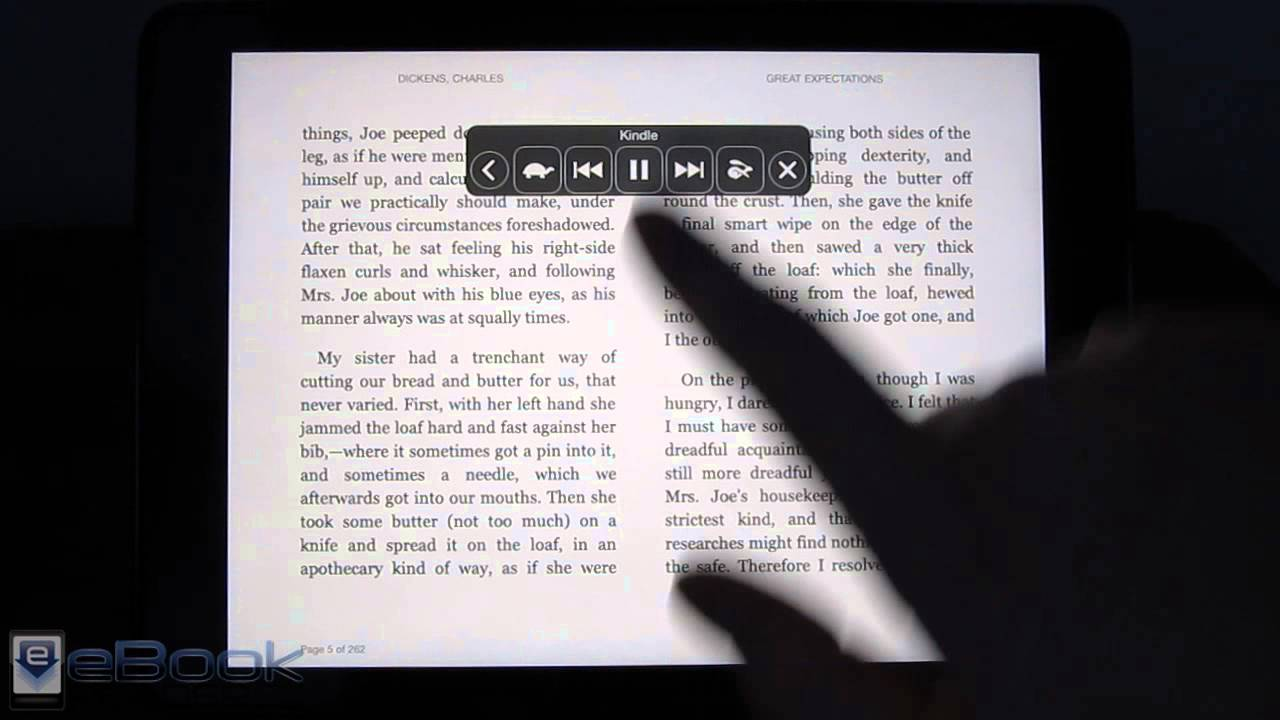 iPad & iPhone Text to Speech for Kindle, iBooks, etc