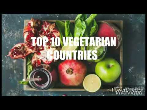 Top 10 vegetarian countries in the world