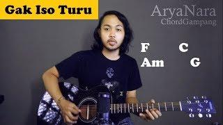 Download Chord Gampang (Gak Iso Turu - Yowis Ben) by Arya Nara (Tutorial Gitar) Untuk Pemula