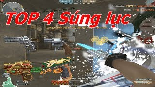 Bình Luận Cf   Top 4 Súng Lục Cực Hot - Tiền Zombie V4