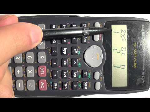 Desviación estándar y media aritmética ¿Cómo utilizar una calculadora científica Casio fx-570MS? from YouTube · Duration:  8 minutes 56 seconds