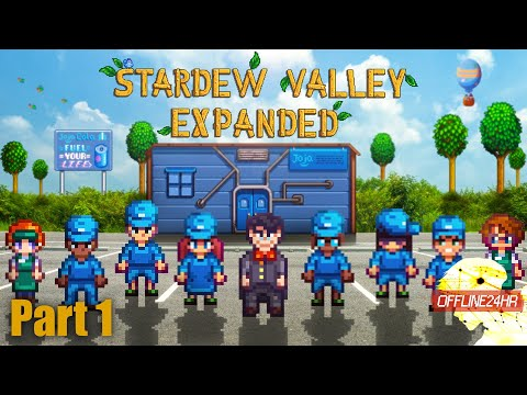 Stardew Valley Expanded (Joja)  เราจะอยู่ข้างโจจ้า  Part 1