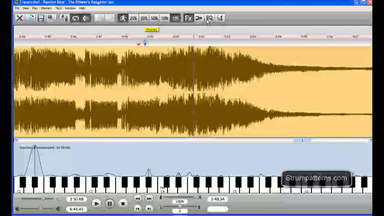 Transcriber Music Software : slow down music with transcribe review and tutorial part 2 of 3 youtube ~ Hamham.info Haus und Dekorationen