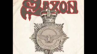 Watch Saxon Taking Your Chances video