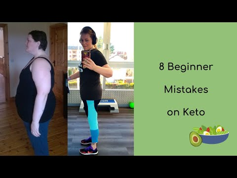 8 beginner mistakes on Keto |105lb natural weight loss