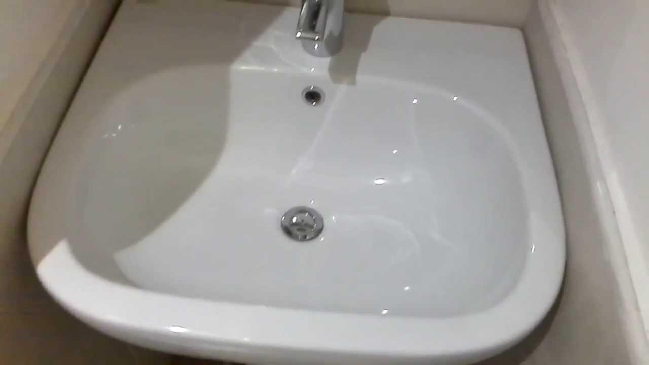 American Standard 0403.800.020 Tropic Petite Pedestal 8 Inch Lavatory Sink,  White