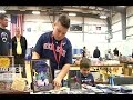 9 year old boy sells trading cards to help friend who has brain cancer
