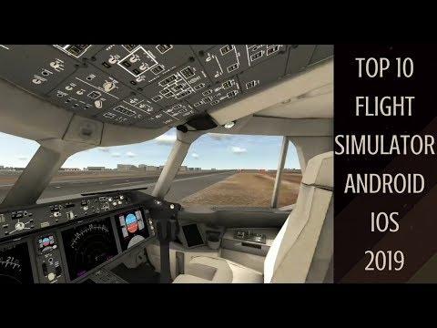 Top 10 Flight Simulator Android & IOS Games 2019