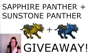 [CLOSED] WoW 6.2.2: MOUNT GIVEAWAY: Sapphire Panther + Sunstone Panther - Gold farming guides