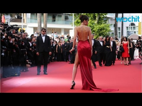 Bella Hadid Wows at Cannes 2016 Red Carpet