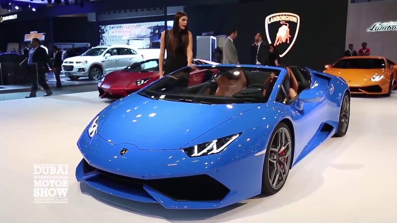 Dubai International Motor Show YouTube - Car show dubai