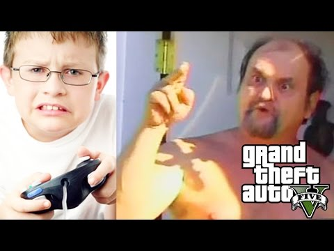 Thumbnail: Kid Gets His Dad on Mic in GTA V After Being Bullied