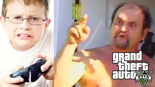 Kid Gets His Dad on Mic in GTA V After Being Bullied