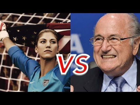 Hope Solo Sexually Assaulted By Sepp Blatter ?