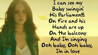 Lana Del Rey - West Coast (Lyric Video)