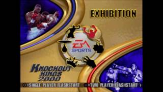 Knockout Kings 2000 PS1 Gameplay