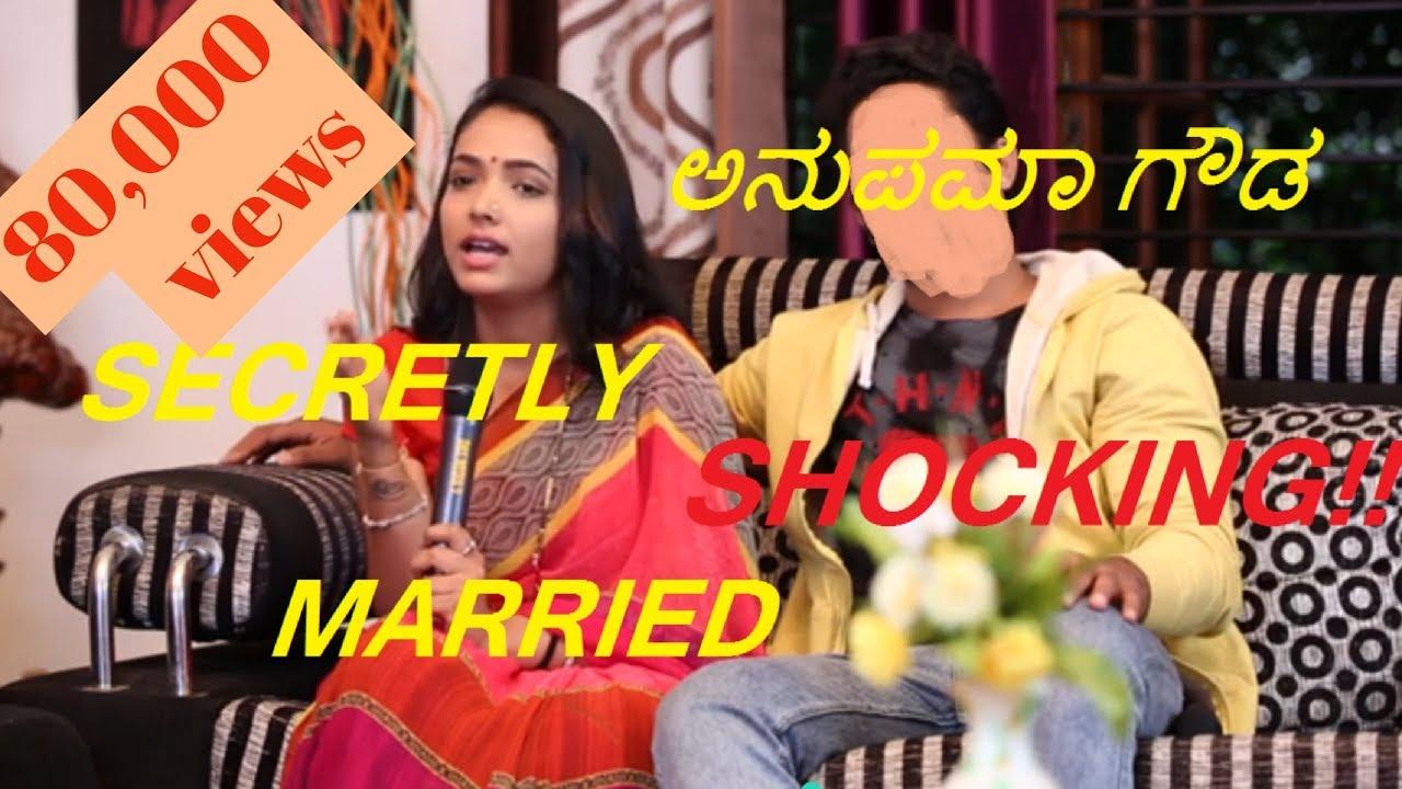 Anupama Gowda Secretly Married To Karthik Shockingproof Bigg
