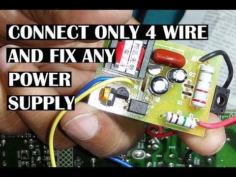 Power supply repair using universal module