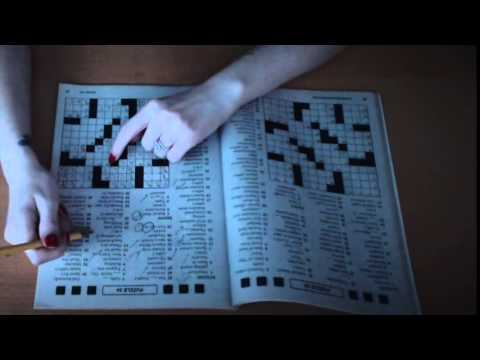 Binaural ASMR Cozy Crossword with Paper and Pencil Sounds (Louder Version)