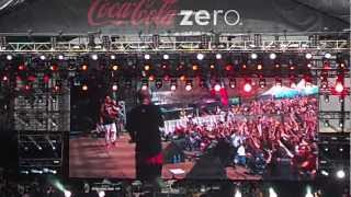 Ludacris - Throw Dem Bows - Live Atlanta Centennial Park 2013 Final Four