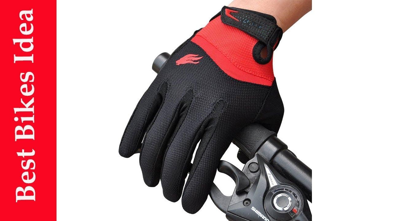 Bike Bicycle MTB DH Downhill Off Road FIRELION Half Finger Biking Gloves